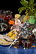 Stock Photo : Dish Stock Photography: Pile Of Dirty Dishes Are Not Washed