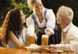Stock Photo : Groups Small Stock Image: Serving Beer