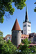 Stock Photo : Tallinn Stock Image: Towers Of Old City