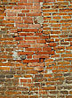Stock Photo : Urban Stock Image: Very Old Brick Wall Background