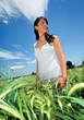 Stock Photo : Adult Pictures: Woman Standing In A Field Of Wheat