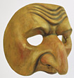 Wooden Face Mask stock photography